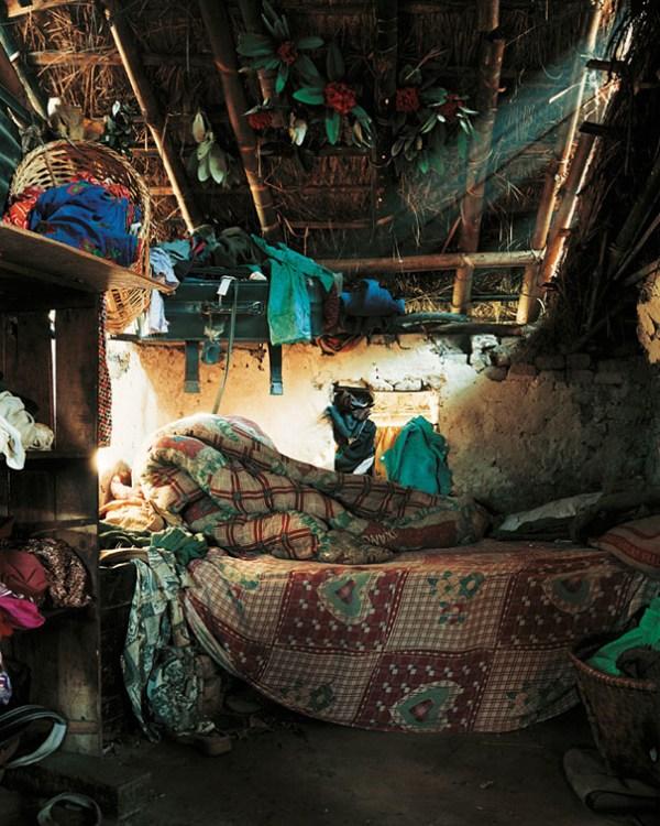INDIRA'S BEDROOM by James Mollison - Where Children Sleep