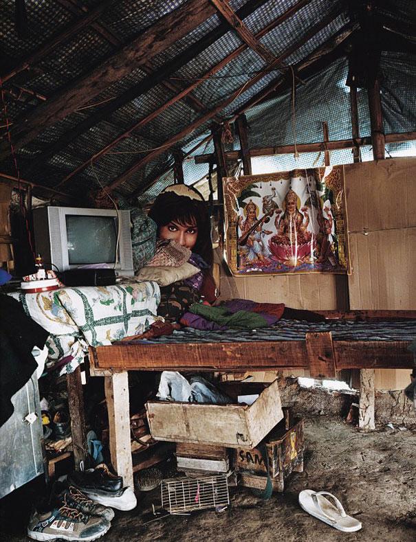 NETU'S BEDROOM by James Mollison - Where Children Sleep