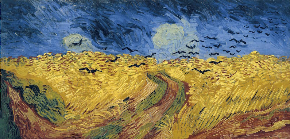 Wheatfield With Crows_Vincent_Van_Gogh