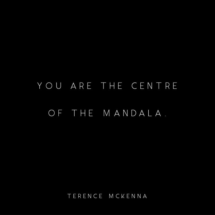 Third Eye Video, You Are The Centre of the Mandala, Terence Mckenna