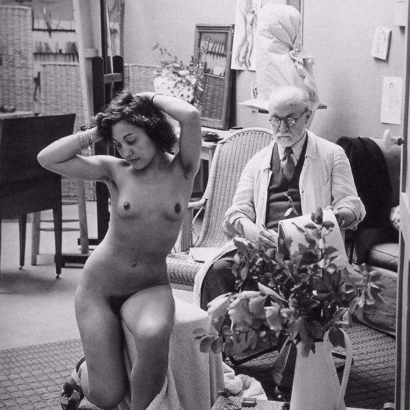 Brassaï-Henri-Matisse-1939-painting-artwork-print